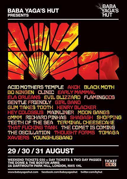 RAW POWER FEST IS OUR NEXT GIG
